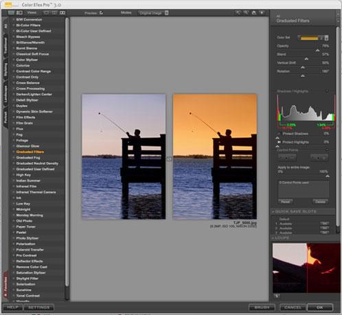 Color Efex Pro 3.0 Interface