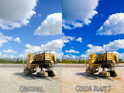 Color Punch: Before & After